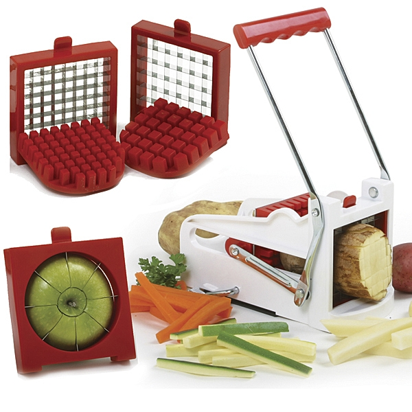 Deluxe French Fry Cutter/Fruit Wedger